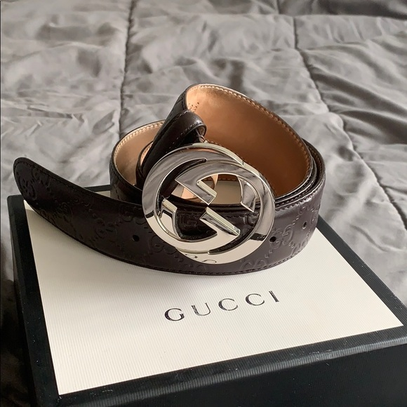 Gucci Other - An authentic men's double locking G Gucci Belt